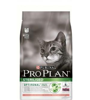 Pro Plan Sterilised sausas maistas katėms su lašiša