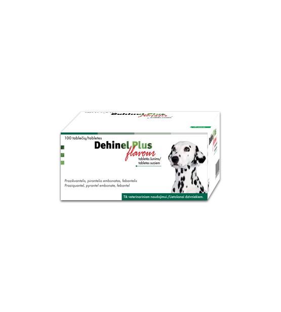 DEHINEL plus Flavour tabletės nuo kirminų šunims