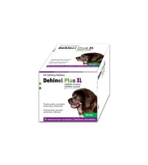 Dehinel XL Plus Tabletės nuo kirminų didelių veislių šunims (1 vnt.)