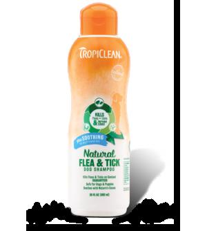 Tropiclean Flea&Tick Dog Soothing Shampoo