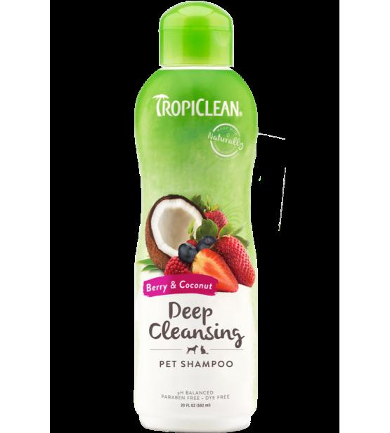 Tropiclean Berry&Coconut giluminis šampūnas