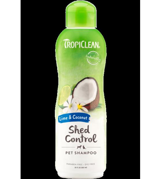 Tropiclean Lime&Coconut šampūnas nuo šėrimosi