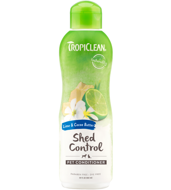 Tropiclean Lime&Cocoa Butter kondicionierius nuo šėrimosi