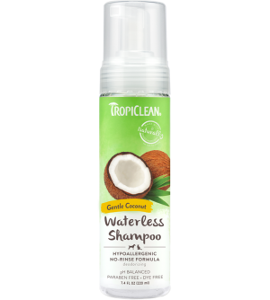 Tropiclean Waterless Shampoo hipoalergeniškas sausas šampūnas