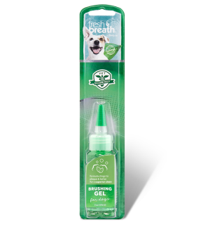 Tropiclean Fresh Breath Brushing Gel dantų valymo gelis