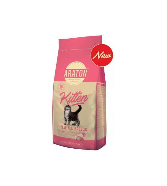 Araton Kitten sausas maistas katėms