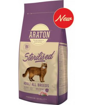 Araton After Sterilization sausas maistas katėms