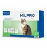 MILPRO 16 mg/40 mg, plėvele dengtos tabletės katėms , N4