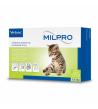 MILPRO 4 mg/10 mg, plėvele dengtos tabletės kačiukams ir mažoms katėms, N4