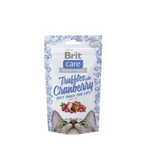 BRIT CARE Cat Truffles Cranberry skanėstai 50g