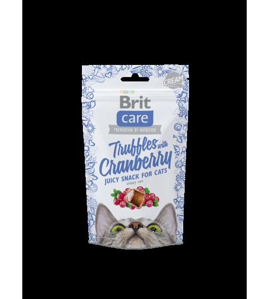 BRIT CARE Cat Truffles Cranberry skanėstai 50g