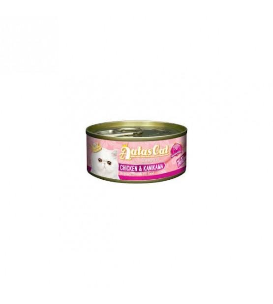 Aatas Creamy Chicken&Kanikava konservas katėms 80g