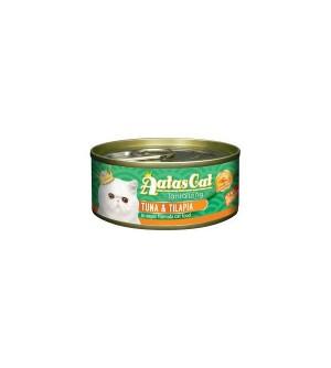 Aatas Tantalizing Tuna&Tilapia konservas katėms 80g