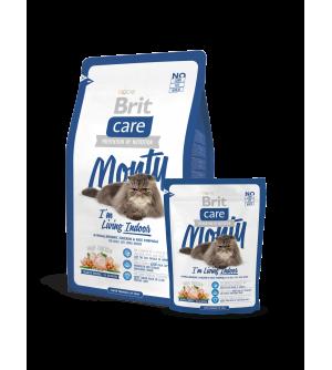 Brit Care Cat Monty Indoor sausas maistas katėms