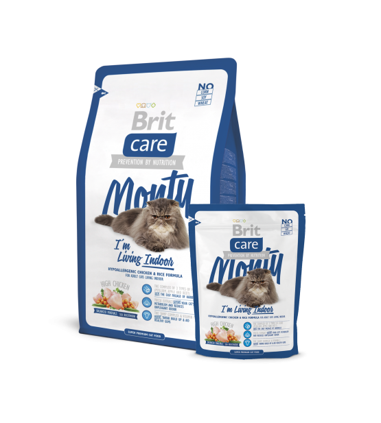Brit Care Cat Indoor Monty sausas maistas katėms