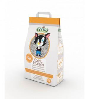 Noriko vaisių aromato bentonitinis  kraikas katėms