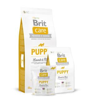 Brit Care Puppy All Breed Lamb & Rice sausas maistas šunims