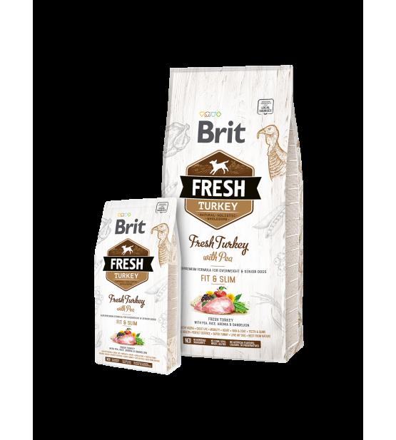 Brit Fresh Turkey with Pea Fit&Slim 12kg