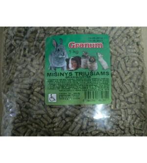 Granum Granuliuotas Mišinys Triušiams 1kg