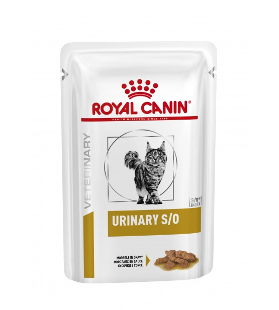 Royal Canin VD Feline Urinary S/O chicken pouch