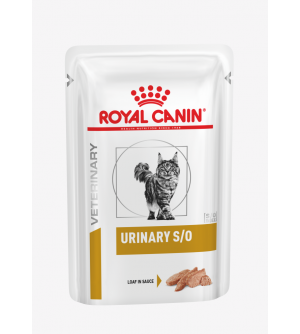 Royal Canin VD Feline Urinary S/O beef pouch