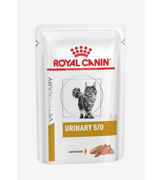 Royal Canin VD Feline Urinary S/O beef pouch
