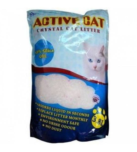 Active cat silikagelio kraikas