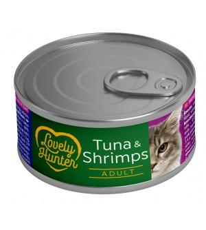 Lovely Hunter Tuna & Shrimps konservai katėms