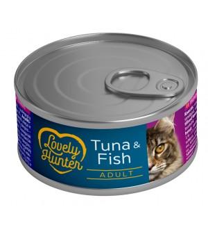 Lovely Hunter Tuna & Fish konservai katėms