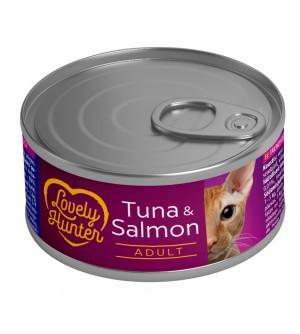 Lovely Hunter Tuna & Salmon konservai katėms