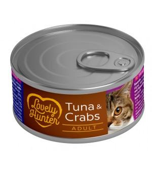 Lovely Hunter Tuna & Crabs konservai katėms
