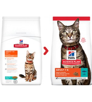 Hill's Science Plan Feline Adult Optimal Care Tuna