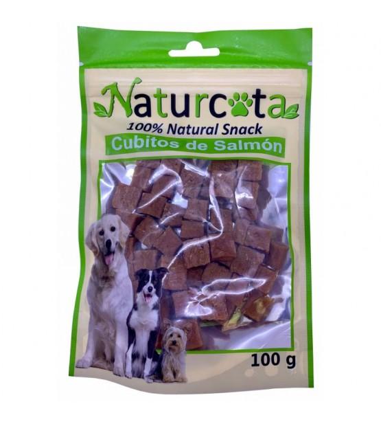 Naturcota lašišų kubeliai