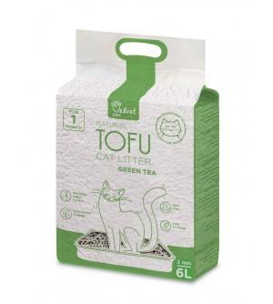 Velvet Paw Tofu kačių kraikas su žaliosios arbatos ekstraktu
