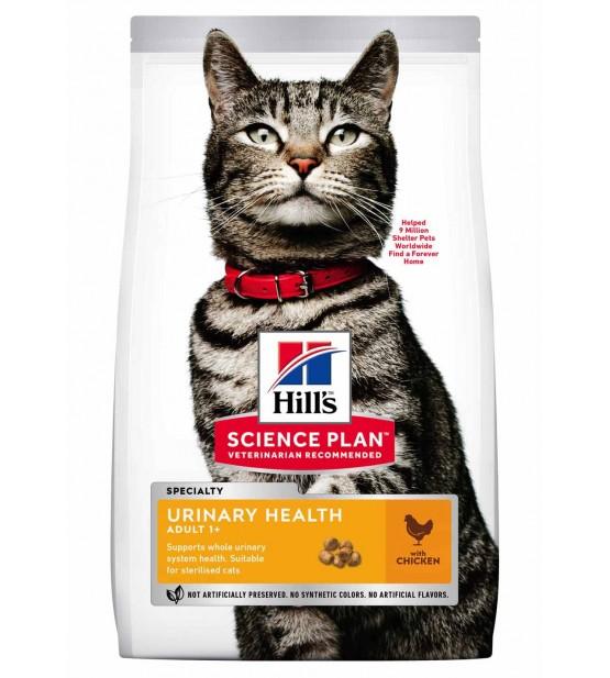 Hill's Science Plan Feline Adult Urinary Health Sterilised Chicken sausas maistas katėms