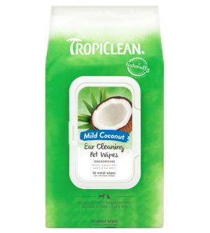 Tropiclean Ear Cleaning Wipes servetėlės ausų valymui