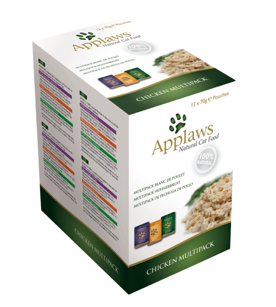 Applaws Cat Chicken multipack pouch