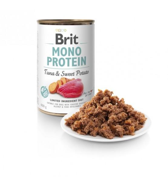 Brit Care Mono Protein Tuna&Sweet Potato konservai šunims