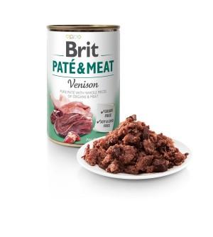 Brit Care Venison Pate&Meat konservai šunims