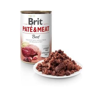 Brit Care Beef Pate&Meat konservai šunims