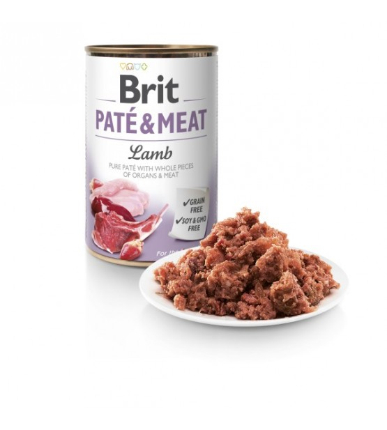 Brit Care Lamb Pate&Meat konservai šunims