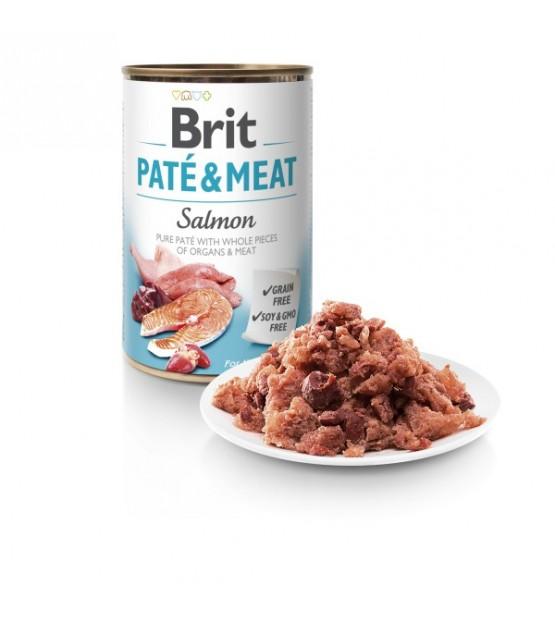 Brit Care Salmon Pate&Meat konservai šunims