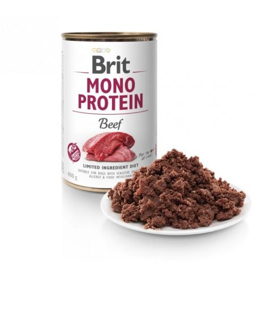 Brit Care Mono Protein Beef konservai šunims