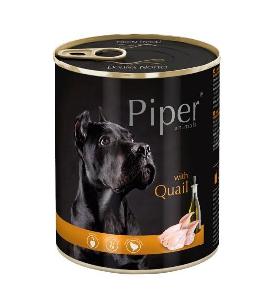 PIPER konservai šunims su putpelėmis