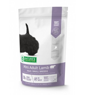 Natures Protection Mini Adult Lamb