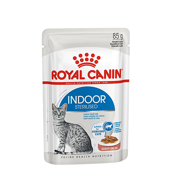 Royal Canin Indoor Sterilised in Gravy pouch