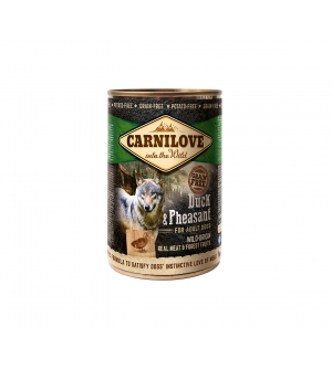 Carni Love Duck & Pheasant konservai šunims