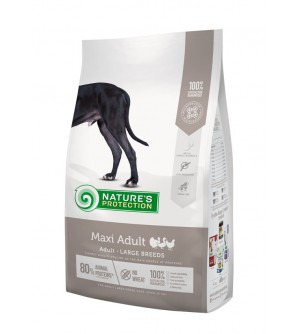 Natures Protection Maxi Adult Poultry sausas maistas šunims