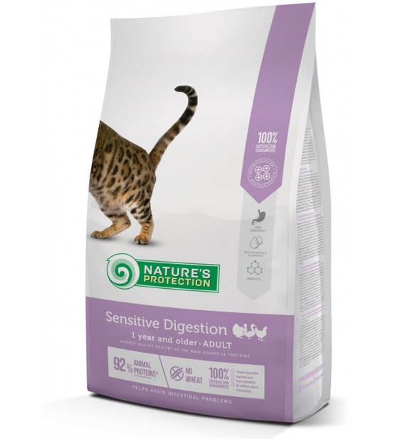 Natures Protection Sensitive Digestion sausas maistas katėms
