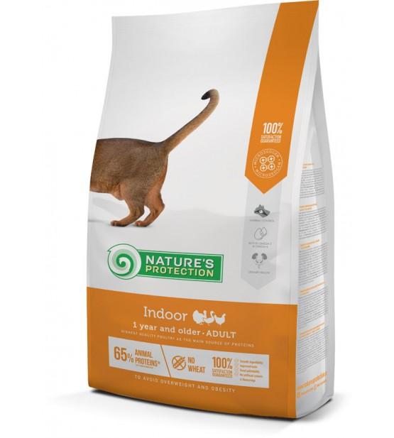 Natures Protection Indoor sausas maistas katėms